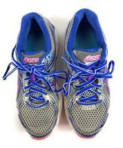 ASICS Gel GT-1000 Silver Blue Running Shoes Sneakers T3R5N Women's 6 US,... - $16.72