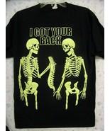 Halloween T Shirt-I Got Your Back-Medium  Glow in the dark - $9.90