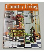 Country Living Magazine November 1997 4 Designers, 4 Looks - $8.35