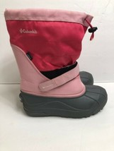 Columbia Women's  Powderbug Plus II Winter Snow Boot Pink Size 6 Waterproof - $23.38