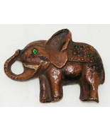 Vintage Elephant Pin Brooch - $10.00
