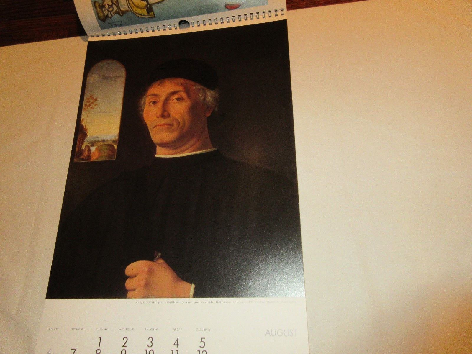 Rx , Pharmacy , Calendar , Hoechst-Roussel Pharmaceuticals Inc.,1989 , Vintage image 5