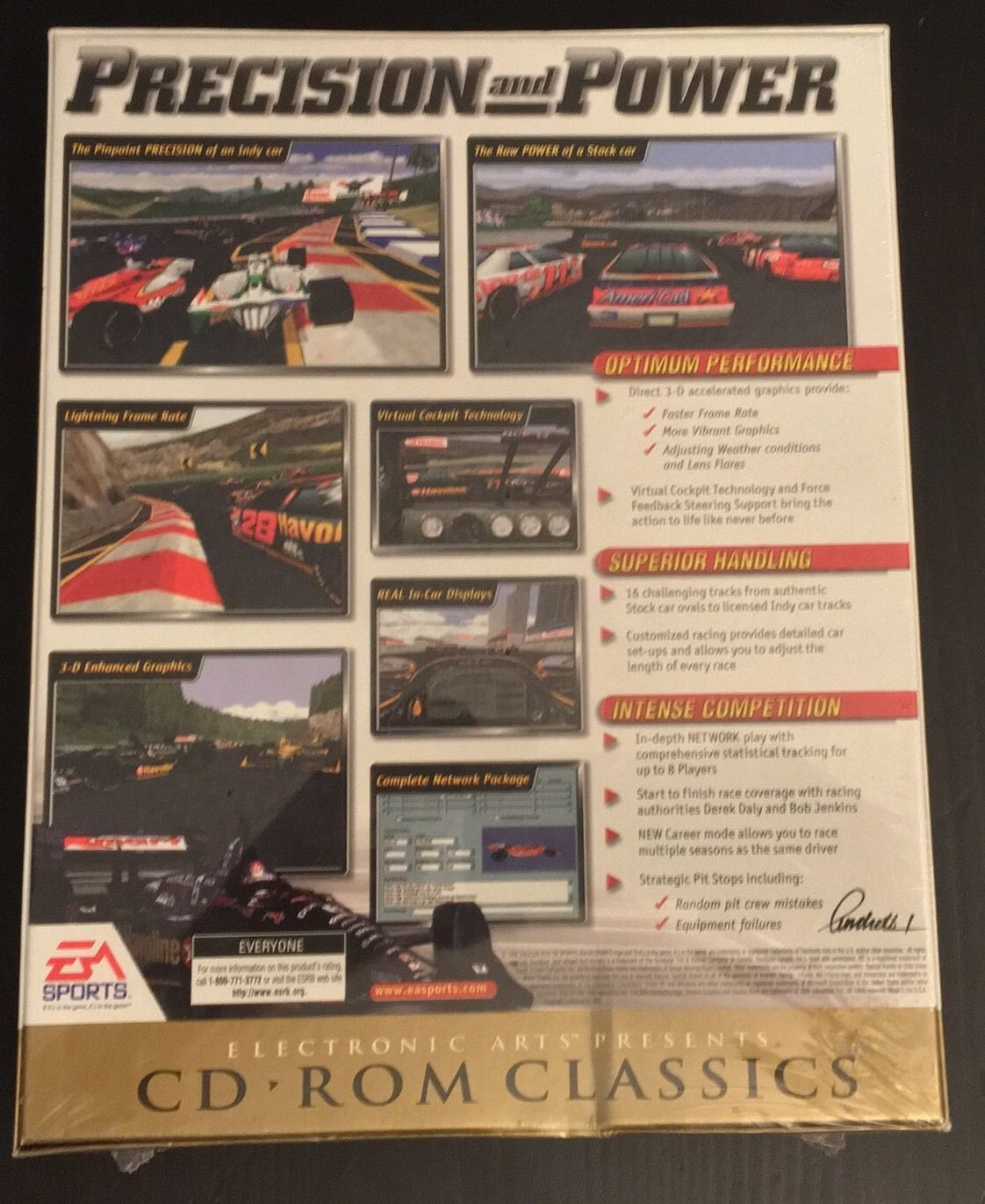Andretti Racing PC EA Sports Sealed Brand New