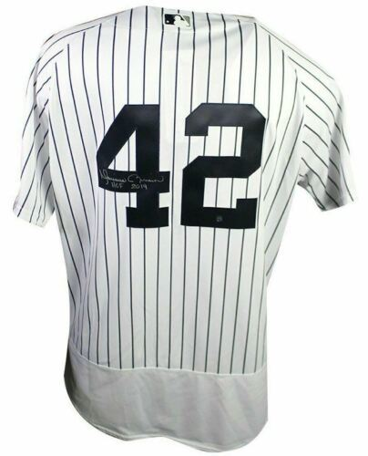 "Primary image for MARIANO RIVERA Signed NY Yankees ""HOF 2019"" Authentic HOF Jersey Steiner."