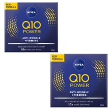 2 Nivea Q10 Plus Night Cream 50 ml / 1.7 fl oz - $43.40