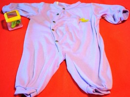 "Pajamas and Fisher Price Incrediblock Toy fits 16"" 18"" Doll Baby Good Us... - $6.99"