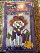 Red Hat Snowlady Banner Kit NEW #5545 The Beadery Craft Products - $22.28