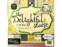 DCWV 12x12 The Delightful Cardstock Paper Pad #PS-005-00264