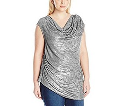 Calvin Klein women`s Sleeveless Top with Angle Bottom Size L /  Worn once - $27.83