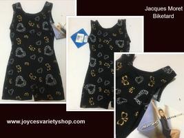Jacques Moret Active Bikewear Hearts & Bows SZ 4/5 XS - $10.99