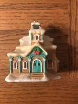 "Village Christmas Ornament ""lightup"" - $11.76"