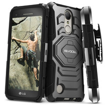 Case Cover for LG Aristo LV3 K4 2017 Hybrid Shockproof Kickstand Clip Ho... - $11.75