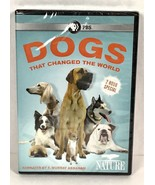 Dogs That Changed The World DVD PBS Nature Documentary Pet Lovers New P1-10 - $19.87