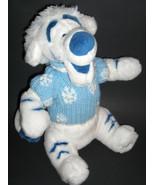 "12"" DISNEY WINNIE THE POOH WINTER WHITE TIGGER in Snowflake Sweater & Hat - $25.00"