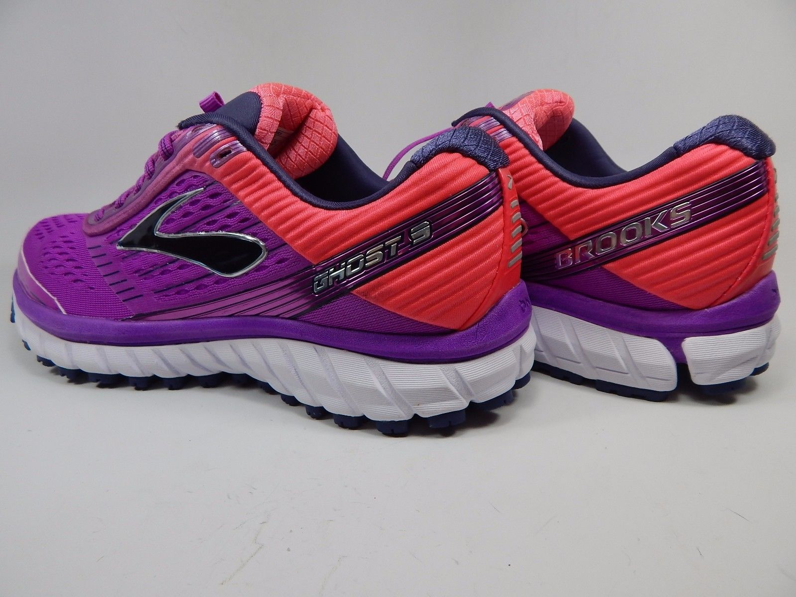 64eab13e335 Brooks Ghost 9 Women s Running Shoes Size US 10 M (B) EU 42 Purple