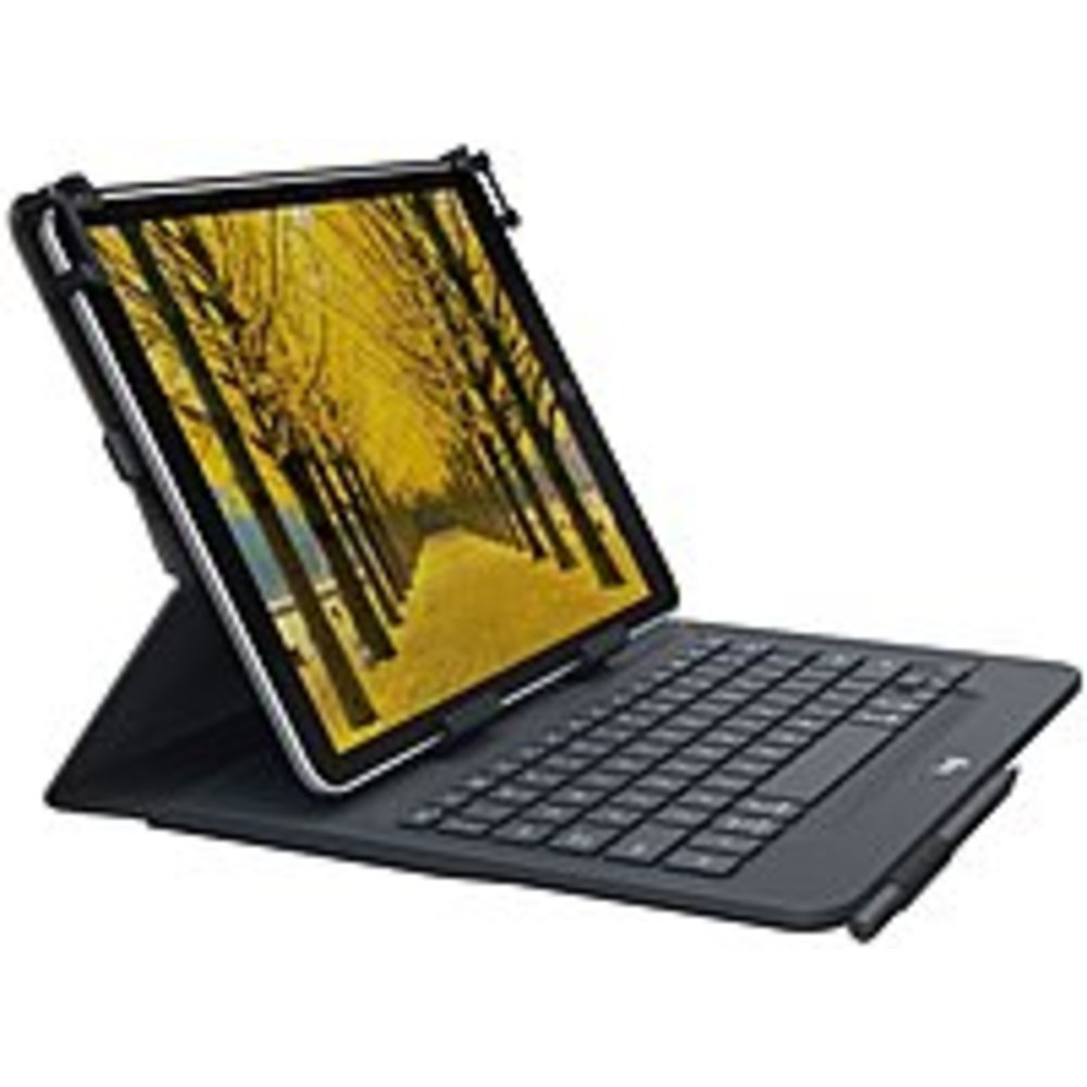 Primary image for Logitech Universal Folio Keyboard/Cover Case (Folio) for 10.5 iPad 2 - Spill Res