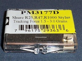 EV 3177D STYLUS NEEDLE for SHURE N70B N72B N70EJ M70B 4768-D6 768-D6 image 2