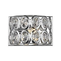 Elk Lighting 81150/1 Vanity-Lighting-fixtures, Chrome - $96.00
