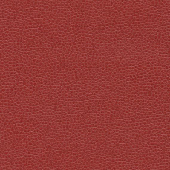 Ultrafabrics Upholstery Fabric Promessa Faux Leather Dogwood Red 2.125 yds T-64