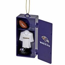 Official NFL Baltimore Ravens Team Locker Christmas Ornament 1/3 - $11.95