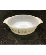 Fire King Candle Glow Casserole Dish Ovenware Candleglow 1 Qt Round Baki... - $9.22