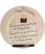 Dreamair 90th Birthday Gift: Signature Plate Box (Round) - $64.76