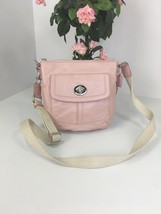 Coach Crossbody Bag Hamilton Turnlock  Pink Soft Leather Adjustable F430... - $58.79
