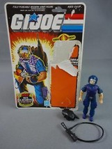Vintage GI JOE Action Figure 1985 Cobra Tele Viper 100% w Full Cardback ... - $17.72