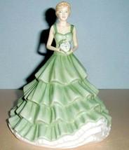 "Royal Doulton Cherished Moments Petite Figurine Sentiments HN5823 7.5""H New - $146.90"