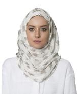 BOKITTA BRIGHT KUFI - PRINTED CRINKLED CHIFFON INSTANT HIJAB Muslim Scar... - $55.62+