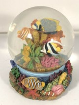 San Francisco Music Box Company Tropical Fish NGS Aquarium Snow Globe Di... - $79.19