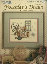 Yesterday's Dream Cross Stitch Embroidery Pattern Leaflet 449 Leisure Arts - $6.99