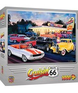 MasterPieces Cruisin' Route 66 Jigsaw Puzzle, Dogs & Burgers, Featuring ... - $13.41