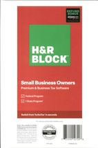 H&R Block Tax Software Small Business Owners - Physical Activation Code - $42.99