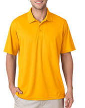 UltraClub 8210 Men's Dry Mesh Polo Shirt - Gold - $9.79+