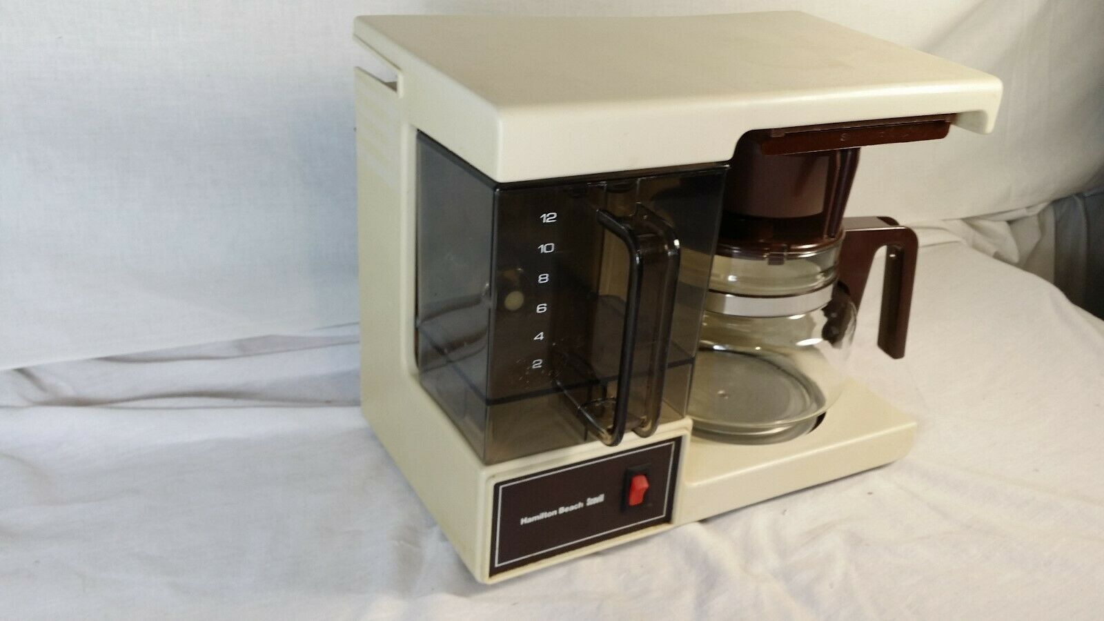 Vintage Space Saver Under Cabinet Coffee Maker Hamilton Beach 12 Cup U.S.A. Made