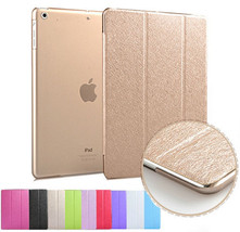 Silk Leather Smart Magnetic Stand Case Cover for Apple iPad 2 3 4 Air Mi... - $12.86+