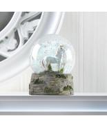 "MINI 3"" PRANCING UNICORN Snow Globe Storybook Fantasy Figurine - $14.77"