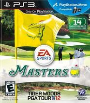 Tiger Woods PGA TOUR 12: The Masters - Playstation 3 [video game] - $13.94