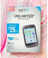 Net10 LG 306G 3.2 Touchscreen 3G 2mg Camera Pre Paid No Contract New In ... - $49.49