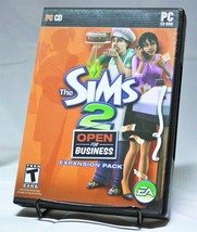 The Sims 2 Open For Business Expansion Pack PC Game CD-ROM EA Games - $14.50