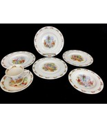 Royal Doulton England Bunnykins Childrens Dishes Lot Cup Saucer Plates D... - $74.76