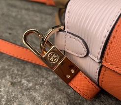 Tory Burch Robinson Color Block Top Handle Mini Bag image 5