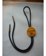 Bolo Tie - Vintage Western Americana featuring Bronco Bronc Riding Rodeo... - $8.00