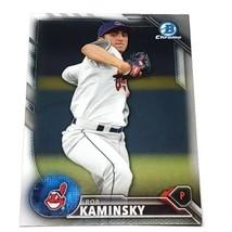 Mlb Rob Kaminski Cleveland Indians 2016 Bowman Chrome Baseball #98 Nmnt - $1.07