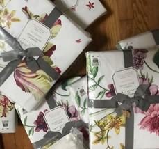 Pottery Barn Isabella Duvet Cover King Tulip Floral Spring No Shams Isab... - $132.44