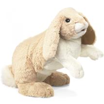 Folkmanis Floppy Bunny Rabbit Hand Puppet - $39.99