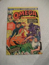 OMEGA THE UNKNOWN #1 marvel comics, very fine condition 1975 - $16.00
