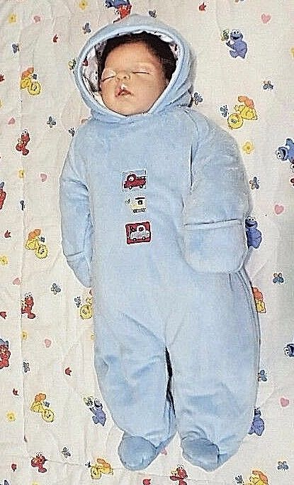 9b79c322ff9e Carter s Child of Mine Baby Blue Fleece and 50 similar items