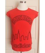 Men's Adidas Run DMC 1982 Red Sleeveless Climalite Sample Graphic T Shir... - $59.95